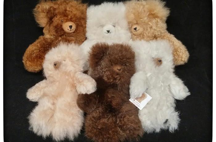 3: Alpaca Teddy Bears